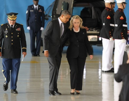Hillary+Clinton+Obama+Attends+Transfer+Remains+4O0VpgF__fLl